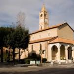 La chiesa del Sacro Cuore nel centro cittadino